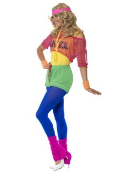 Womens 80s Let's Get Physical Costume-alt3