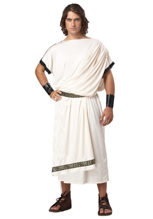 Deluxe Toga Costume For Men