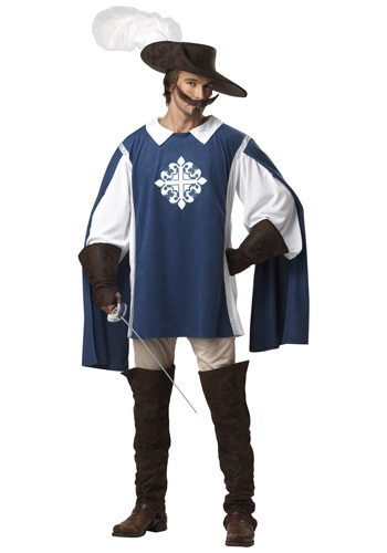 Brave Musketeer Adult Costume