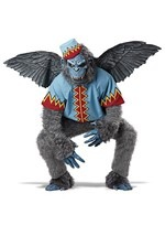 Scary Winged Monkey Men's Costume