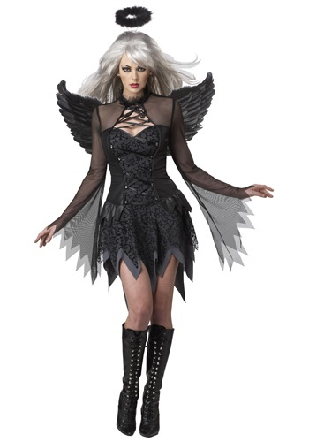 Women's Sexy Fallen Angel Costume