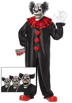 Scary Last Laugh Clown Costume