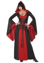 Women's Deluxe Hooded Vampire Robe