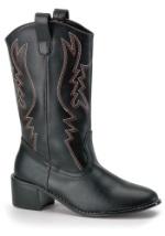 Black Men's Cowboy Boots