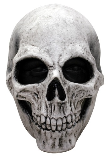 Adult White Skull Mask