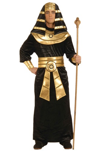 Mens Black Pharaoh Costume