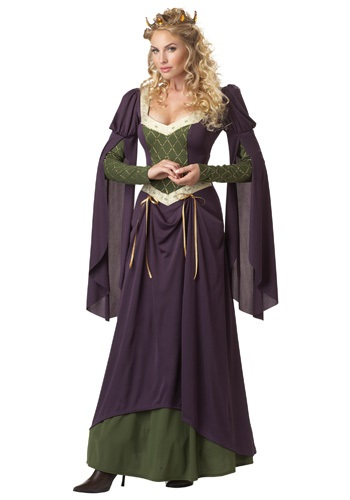 Adults Lady in Waiting Costume