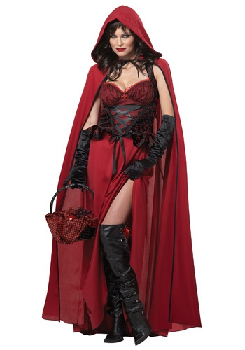 Dark Red Riding Hood Costume