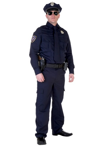 Men's Authentic Cop Costume
