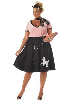 50s Sweetheart Plus Size Women's Costume