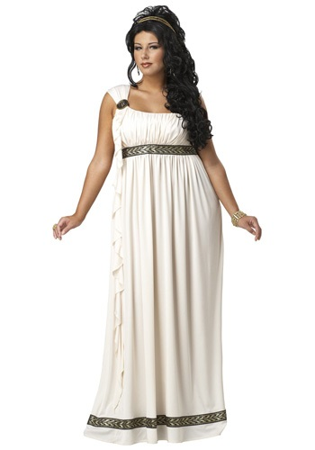 Olympic Goddess Plus Size Costume