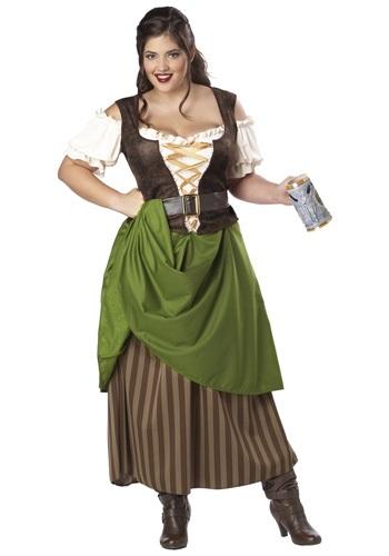Tavern Maiden Women's Plus Size Costume