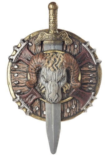 Combat Shield and Sword For Barbarians