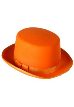 Orange Costume Tuxedo Top Hat
