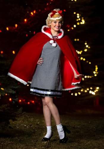 Womens Christmas Girl Costume Update