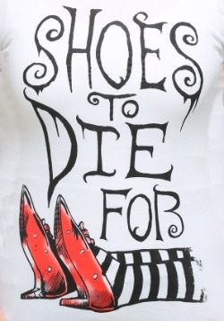 Womens Wizard of Oz Shoes To Die For T-Shirt2