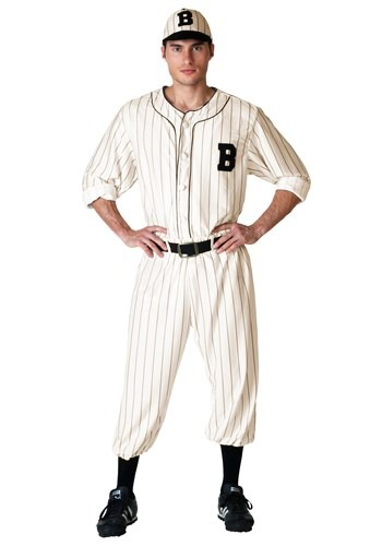 Mens Vintage Baseball Costume update
