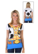 Toy Story I Am Woody Womens Costume Tee