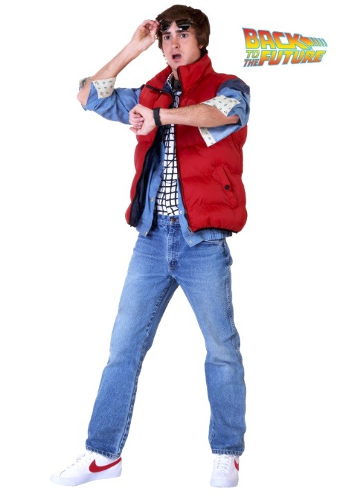 Marty McFly Back to the Future Costume Update1