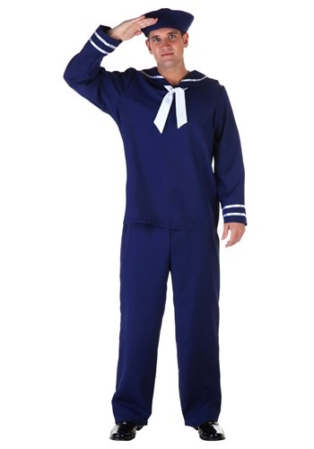 Mens Blue Sailor Costume