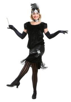 Deluxe Velvet Flapper Costume