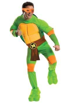 Deluxe TMNT Michelangelo Mens Costume