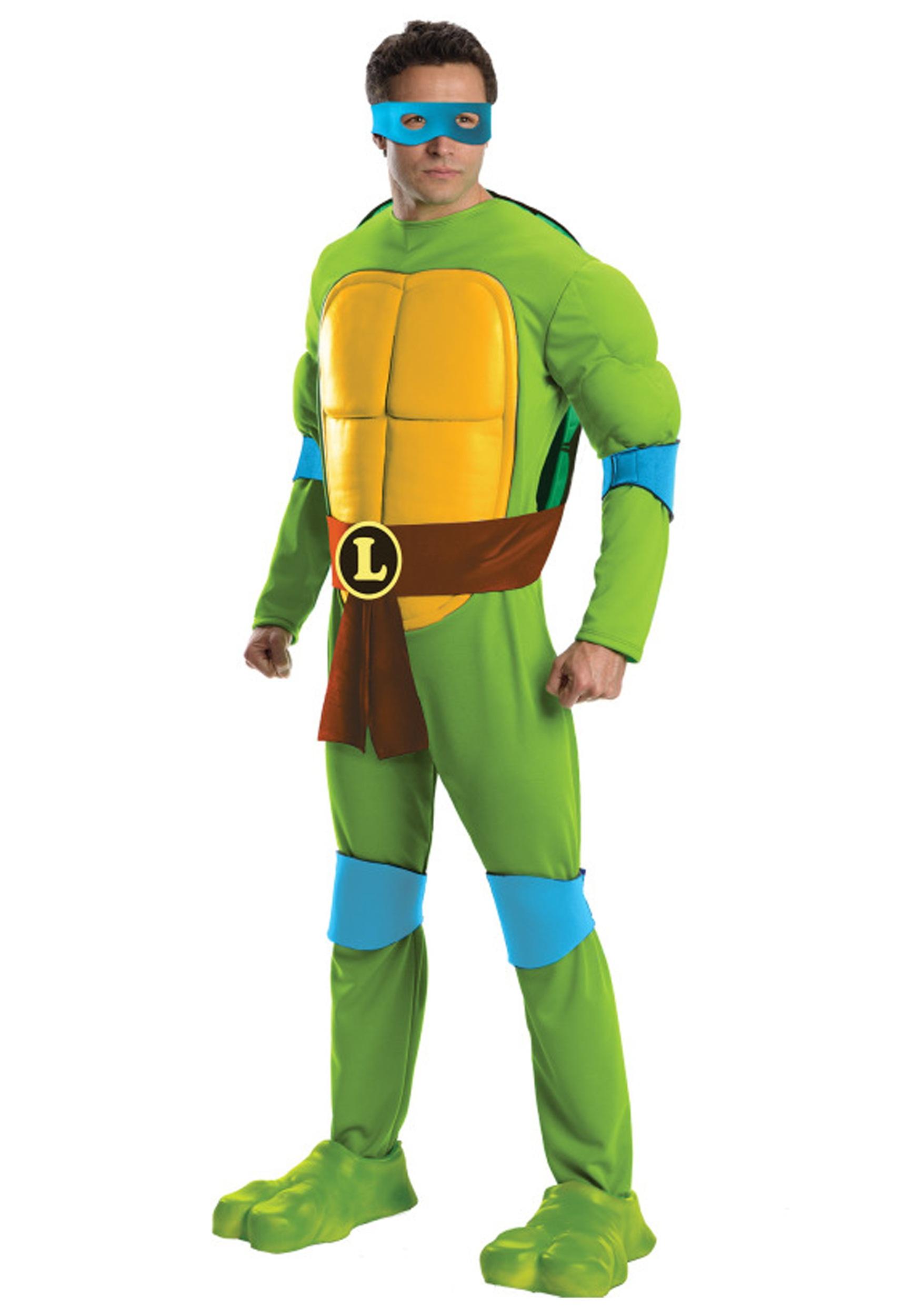 Deluxe tmnt leonardo costume for men deluxe tmnt leonardo mens costume solutioingenieria Gallery
