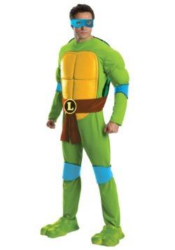Deluxe TMNT Leonardo Men's Costume