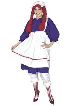 Raggedy Ann Doll Plus Size Costume