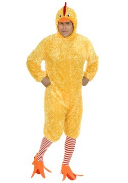 Yellow Funky Chicken Costume
