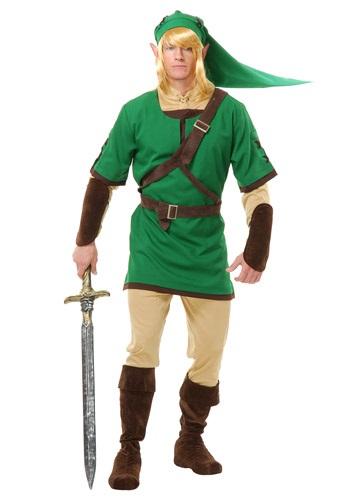 Warrior Elf Hero Mens Costume