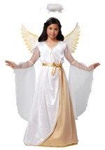 Guardian Angel Girls Costume