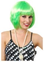 Lime Green Bob Wig