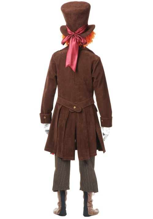 Men's Deluxe Mad Hatter Costume 2