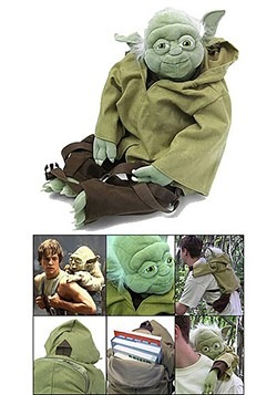 Star Wars Stuffed Yoda Backpack