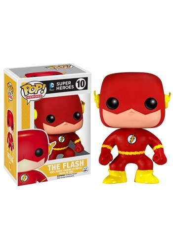 POP Heroes The Flash Vinyl Figure