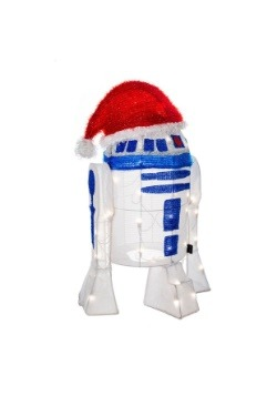 "24"" R2D2 3D Light Up Christmas Decoration"