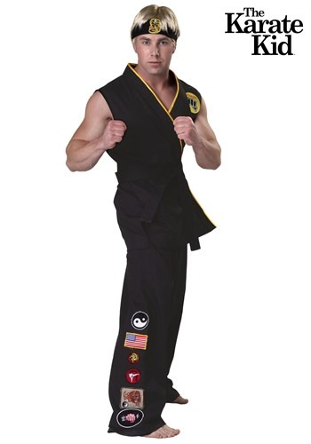 Authentic Karate Kid Cobra Kai Adult Costume
