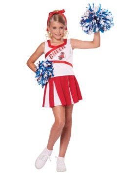 High School Cheerleader Girls Costume