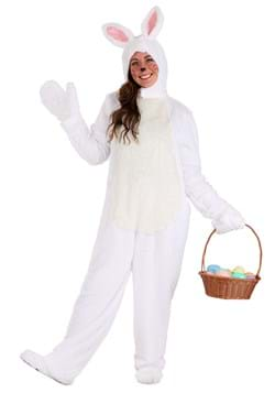 White Bunny Costume for Adults
