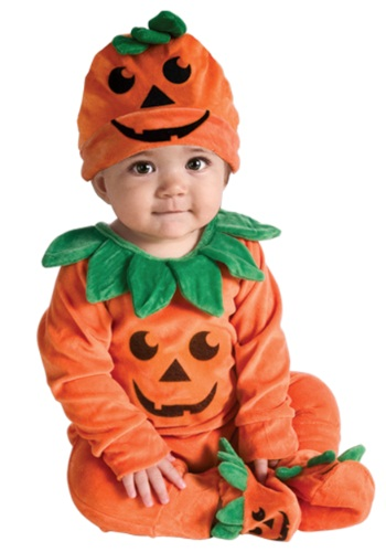Li'l Pumpkin Onesie For Infants