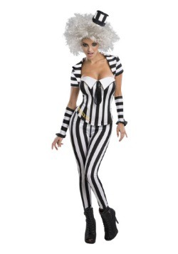 Beetlejuice Womens Corset Costume