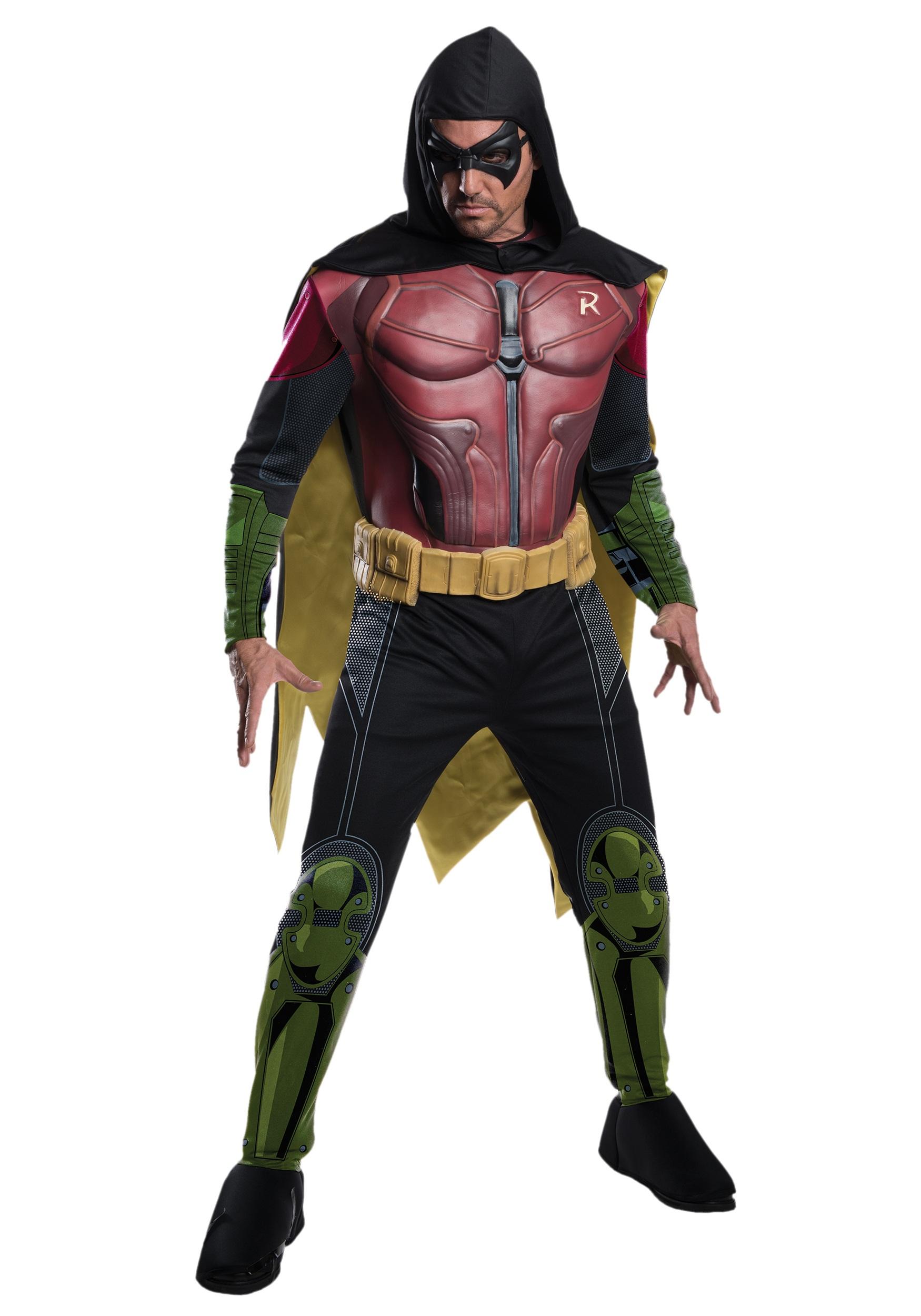 01aa20c59929cf Men s Robin Arkham Origins Costume