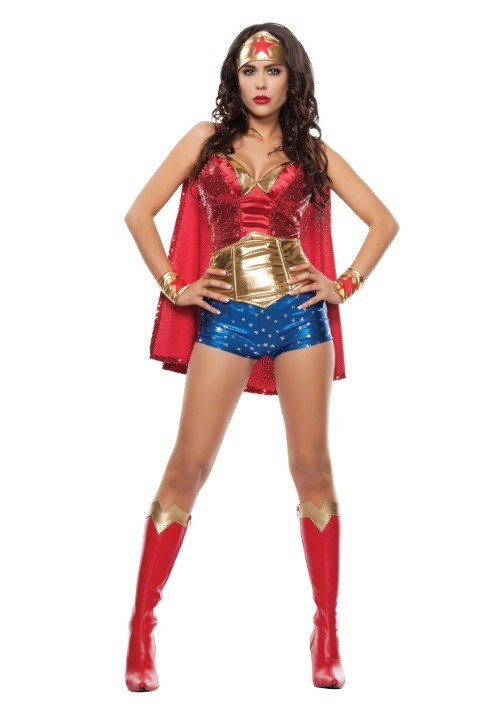 Wonder Lady Womens Costume
