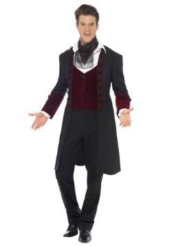 Gothic Vampire Costume For Men alt 1
