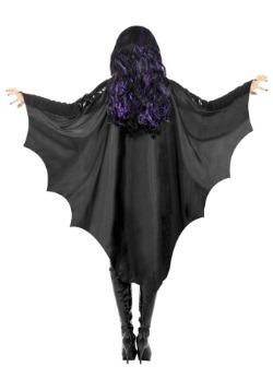 Adult Black Bat Wings 2