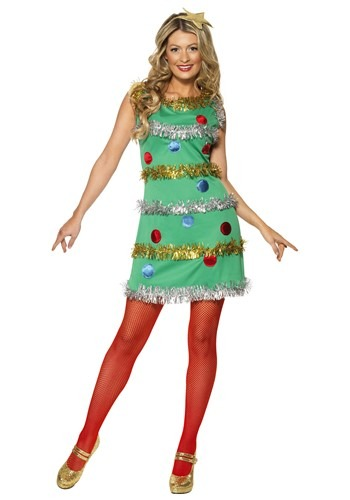 Women's Christmas Tree Dress