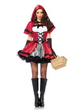 Adult Gothic Red Riding Hood Costume