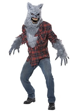 Adult's Gray Lycan Werewolf Costume