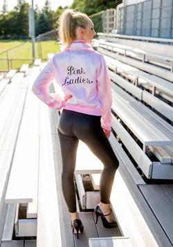 Plus Size Pink Ladies Jacket Alt 4
